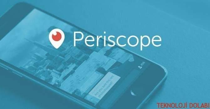 Periscope Yayınları Bilgisayardan Nasıl izlenir ?