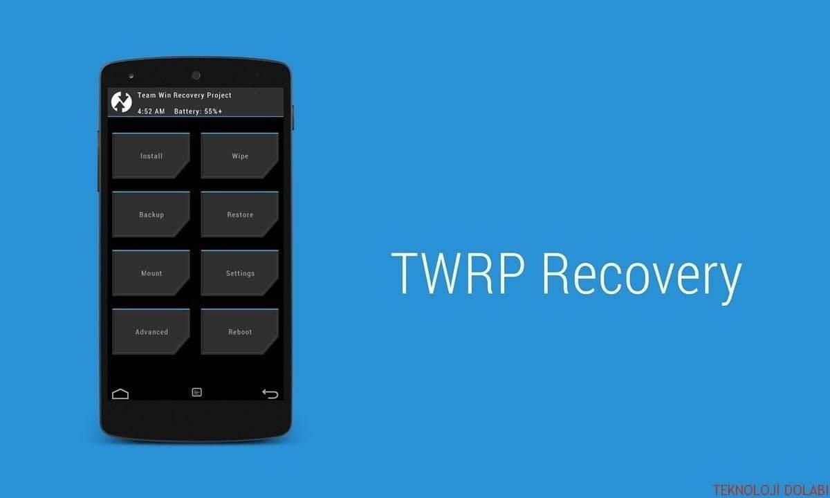 TWRP Recovery İle Wipe İşlemleri Nasıl Yapılır? 1