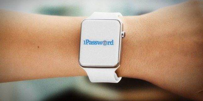 Apple Watch'a resimli kilit ekleme uygulaması: 1 Password Pro Feature 1