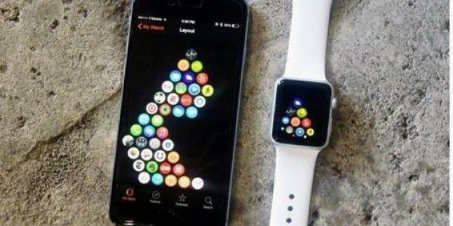 Apple Watch uygulama yerleşim tasarımları nasıl değiştirilir? 1
