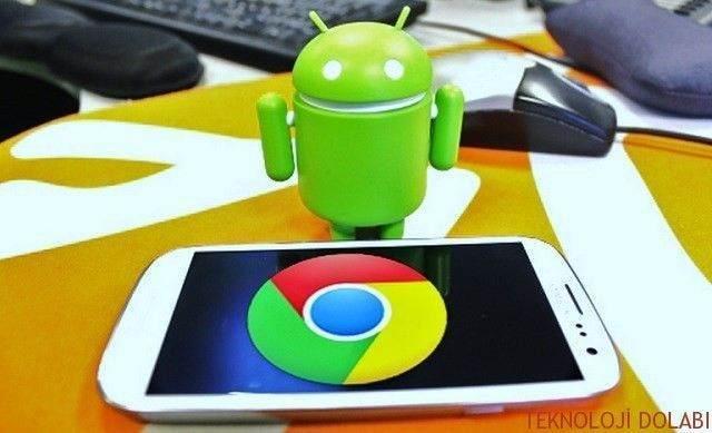 Samsung Google Chrome Geçmişi Silme