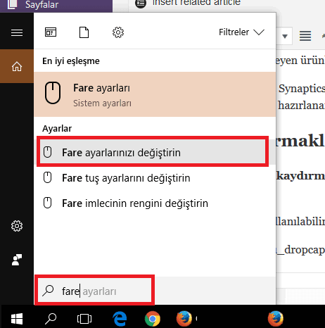 Windows İki Parmakla Kaydırma Hareketi Nasıl Etkinleştirilir