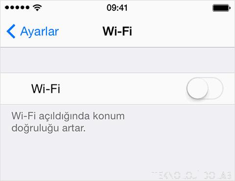 iOS'ta Wifi Ayarlarının Gri ve Soluk Gözükmesi Sorunu ve Çözümleri 1