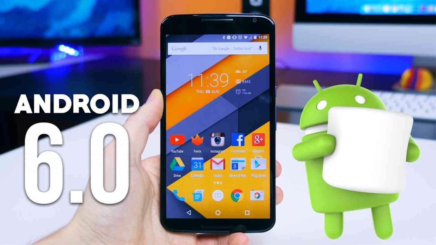 Android 6.0 Marshmallow'da uygulama verileri silmek 1