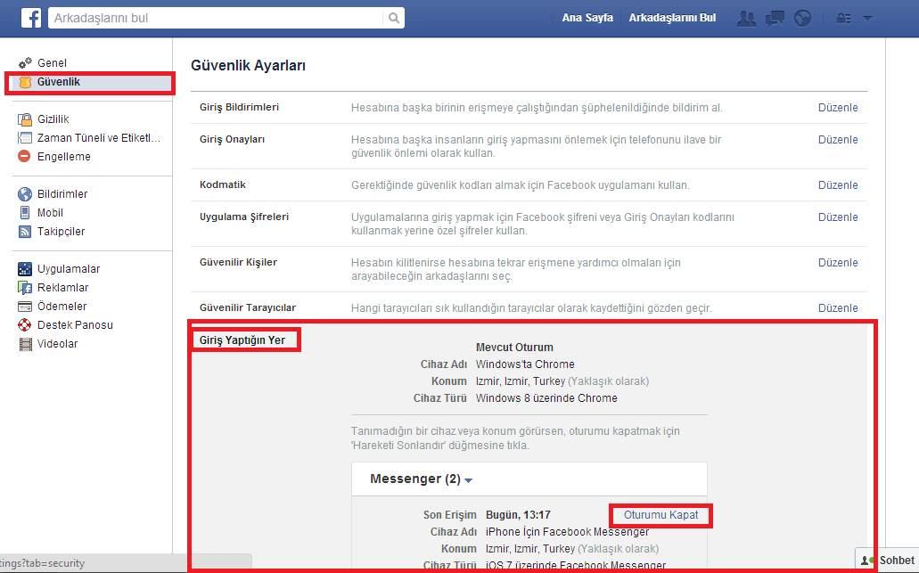 Facebook Messenger Uygulamasından Nasıl Çıkış Yapılır