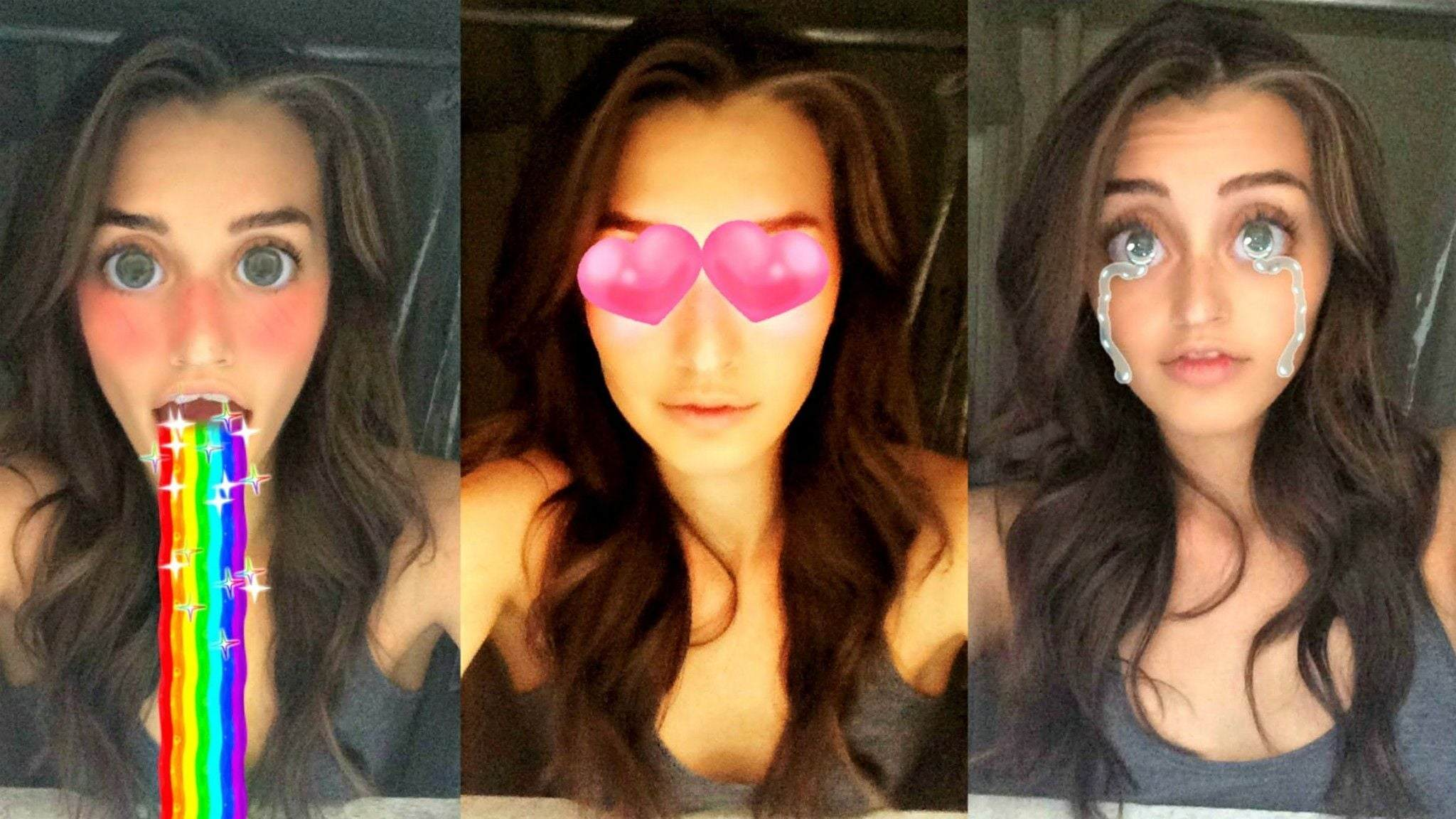 Snapchat Lenses özelliği nasıl kullanılır? Selfie'lere nasıl filtre eklenir?