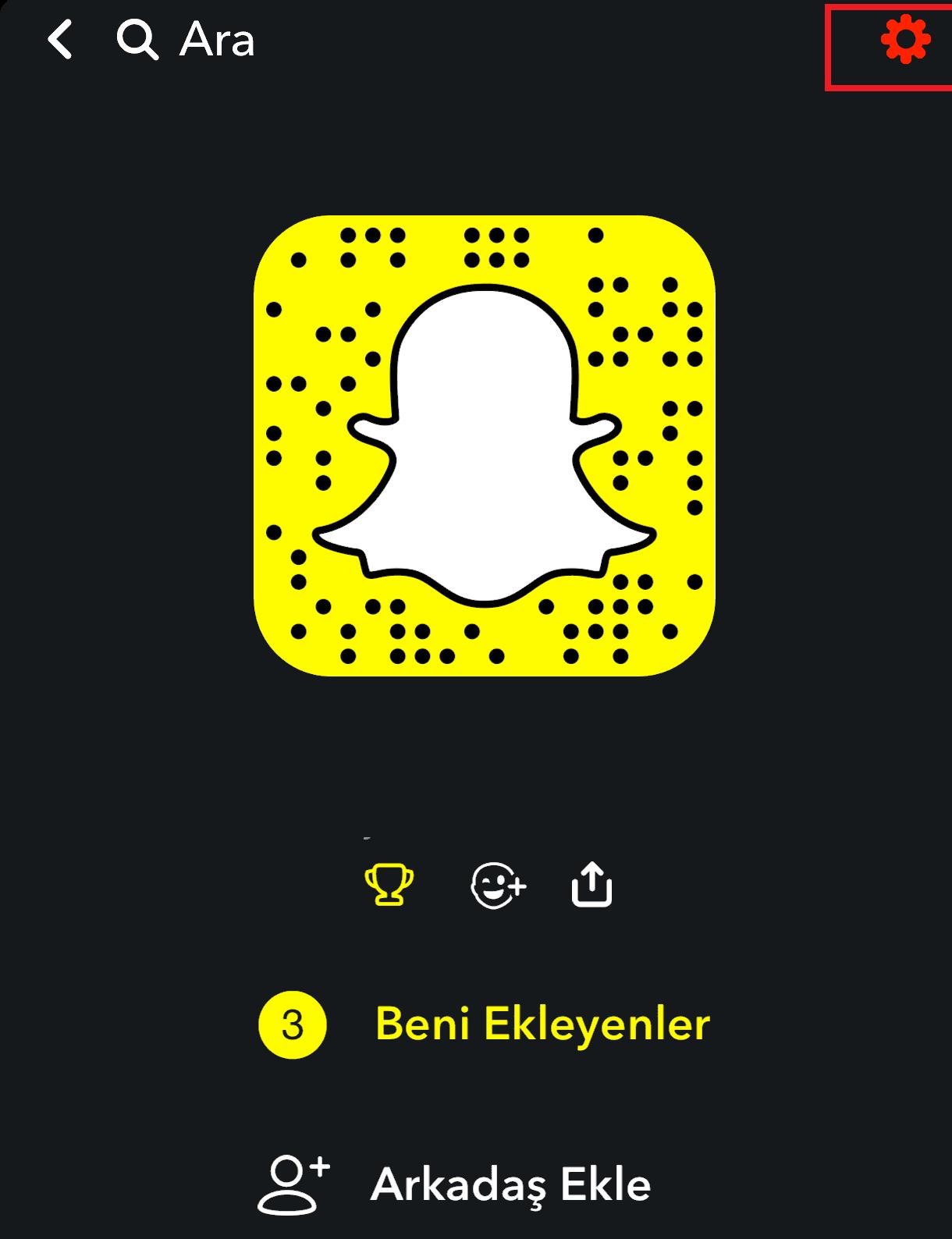 Snapchat Sohbetleri ve Mesajları Silme