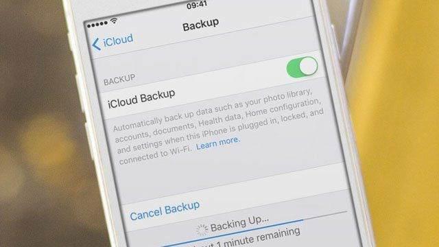 iCloud Son Yedekleme Tamamlanamadı Hatası Çözümü 1