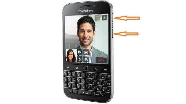 BlackBerry Ekran Görüntüsü Alma (Z10, Z20, Z30, Classic)