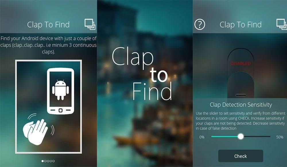 Clap to Find Kaybolan Telefonu Alkış ile Bulma Uygulaması 1