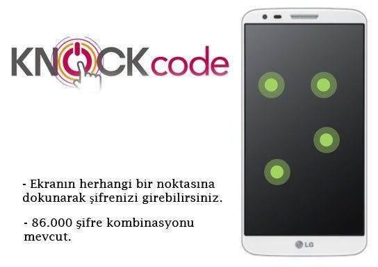 Knock Code Nasıl Kullanılır ?