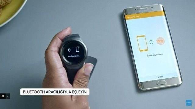 Samsung Gear S2 Telefona Nasıl Bağlanır?