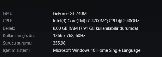 Windows 10 Nvidia Kernel Mode Driver ( 355.82 ) Hatasının Çözümü 4