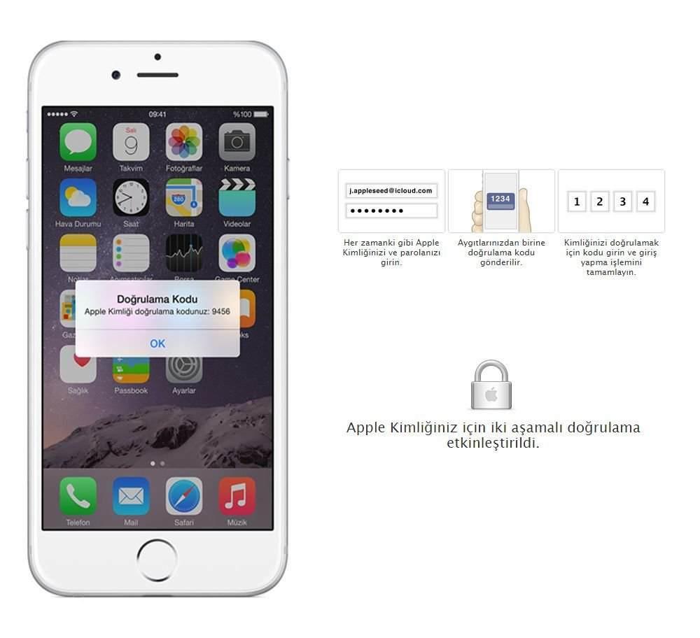 Apple ID İki Aşamalı Doğrulama Nasıl Etkinleştirilir? 2