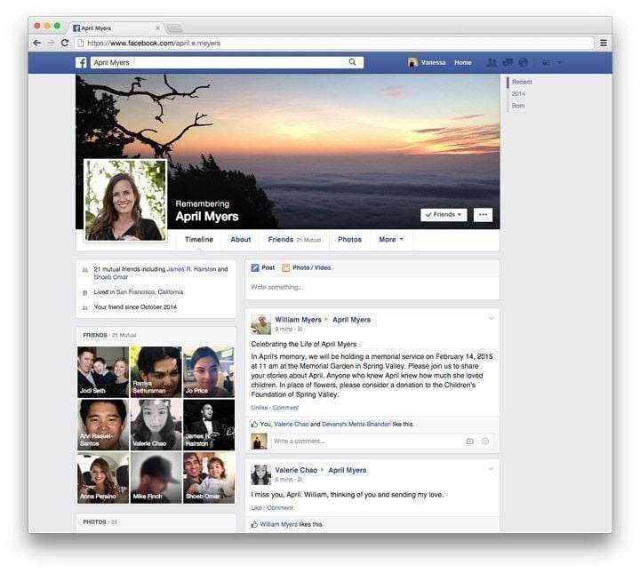 facebook-legacy-contact-profil-sayfasi