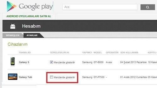 google-play-ayarlar-cihazlar