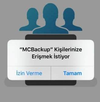 iPhone Rehberi Sim Karta Aktarma