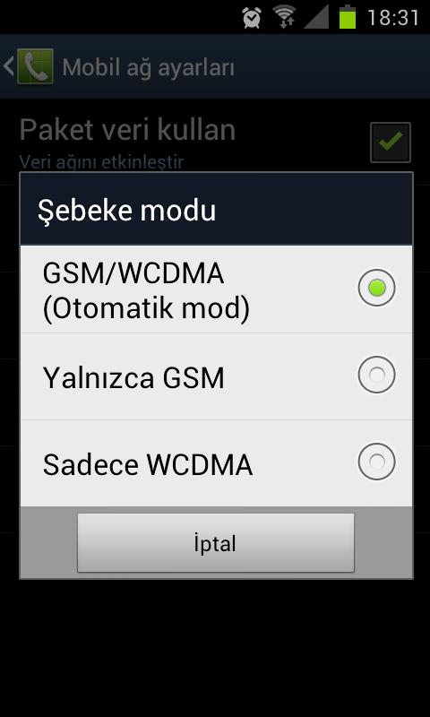 Android Telefonda 3G Nasıl Kapatılır-2