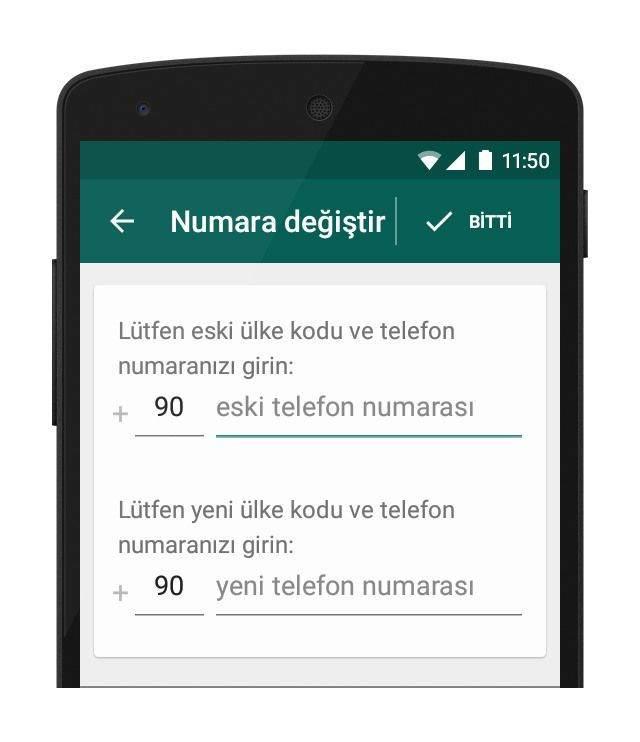 Android Telefonumda WhatsApp Telefon Numaramı Nasıl Değiştirebilirim2