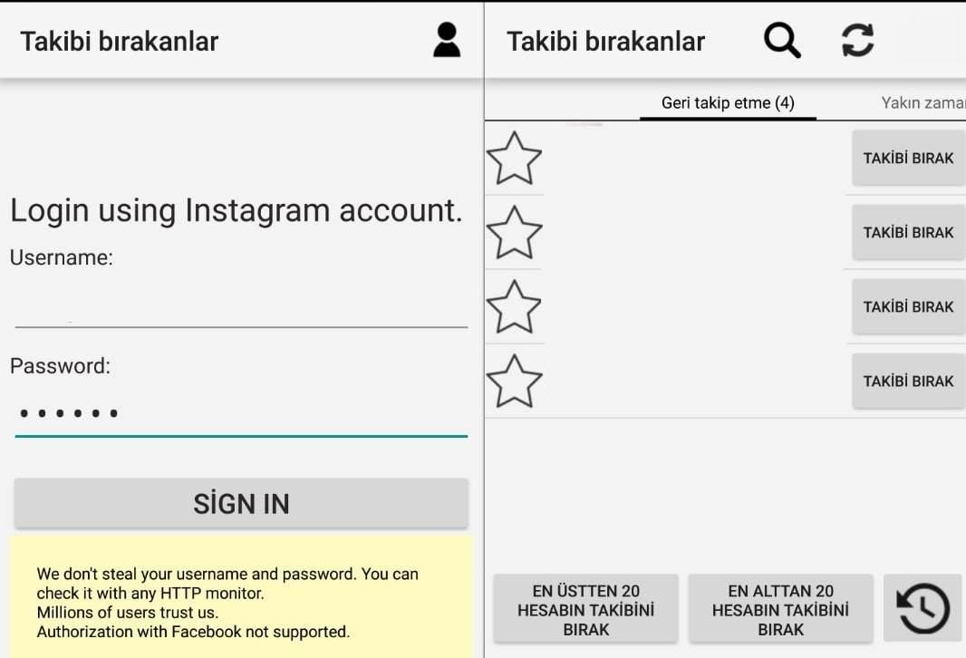 Instagram'da Takip Etmeyenleri Bulma Nasıl Yapılır?