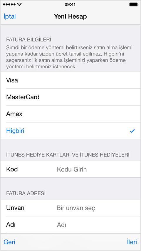 Kredi Kartı Olmadan Apple Kimliği Nasıl Açılır-3(www.TeknolojiDolabi.com)