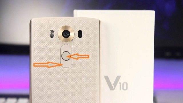 LG V10 Ekran Görüntüsü Alma 1