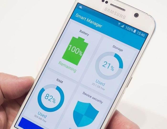 S6 & S6 Edge Cihazımda Smart Manager Uygulamasından Nasıl Yararlanabilirim? 1