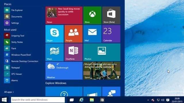 """""""Windows 10 Başlat Menüsü Durduruldu"""" Hatası Çözümü 1"""
