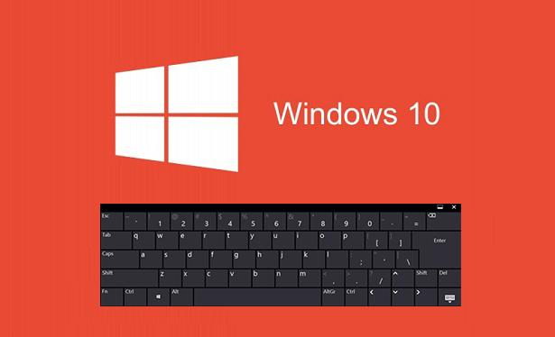 Windows 10'da Ekran Klavyesi Nasıl Açılır? 1