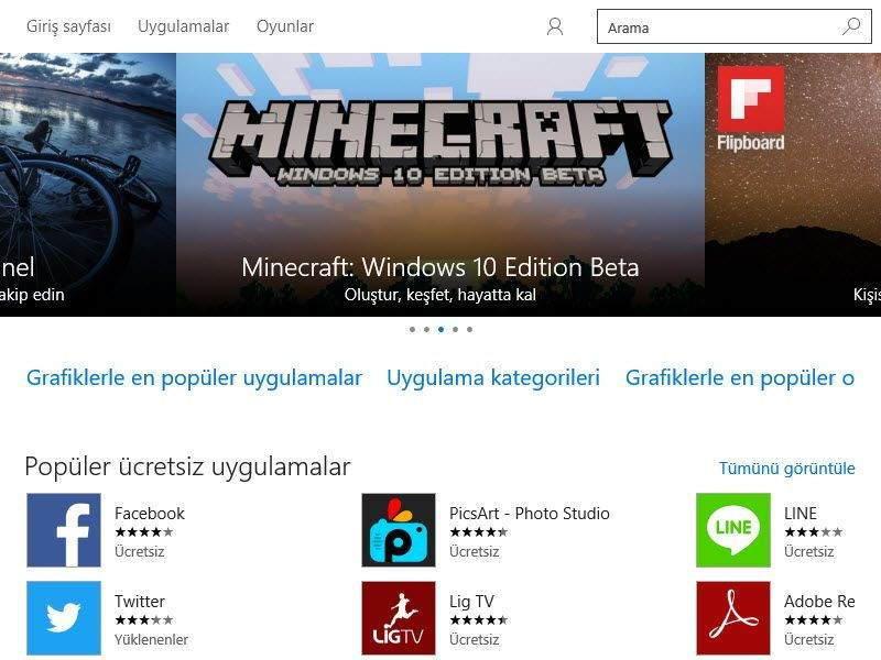 Windows 10 Mağazada Oturum Açma ve Uygulama Edinme 3