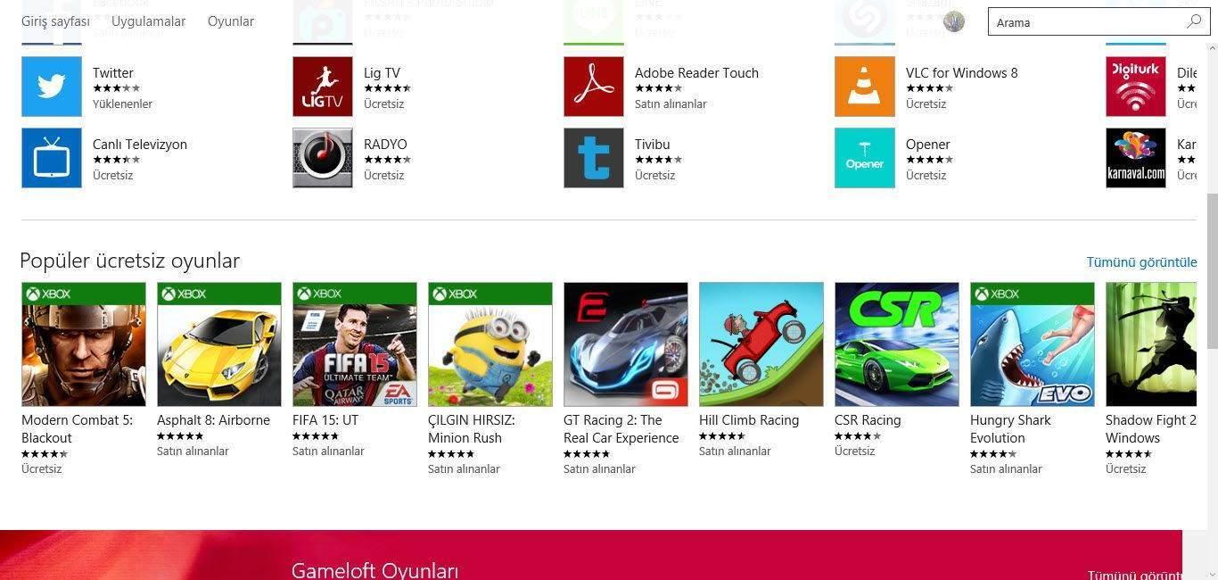 Windows 10 Mağazada Oturum Açma ve Uygulama Edinme8