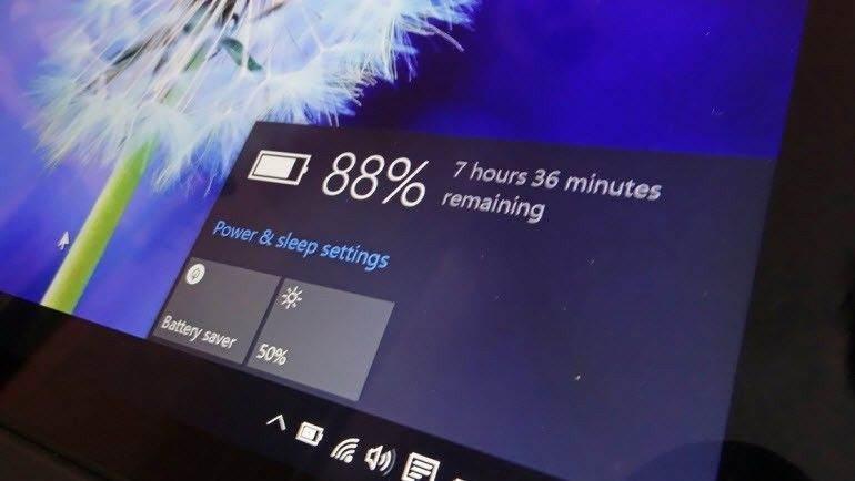 Windows 10'da Pil Ömrü Nasıl Uzatılır? 1