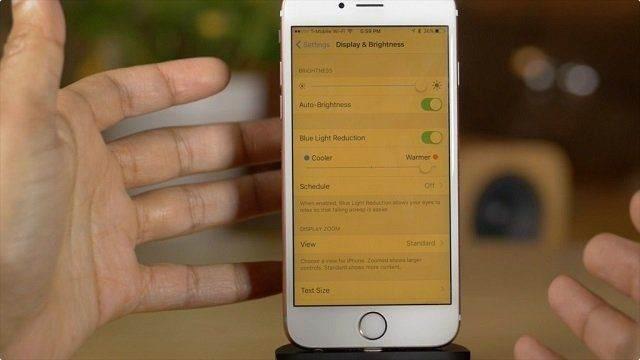 iOS 9.3 ile Gelen Night Shift Modu Nedir, Nasıl Etkinleştirilir