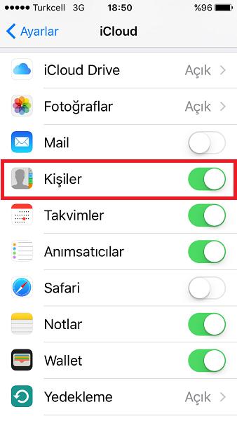 iPhone'dan Silinen Numaraları Geri Getirme
