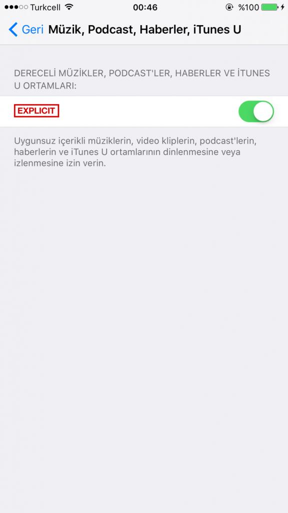 Apple Music'te Explicit Parçaların Kilidi Nasıl Açılır-6-(www.TeknolojiDolabi.com)