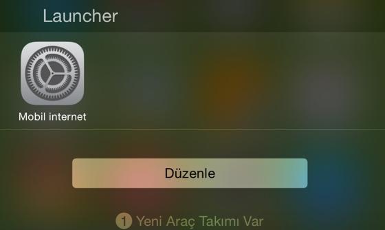 Mobil-veri-iphone-widget