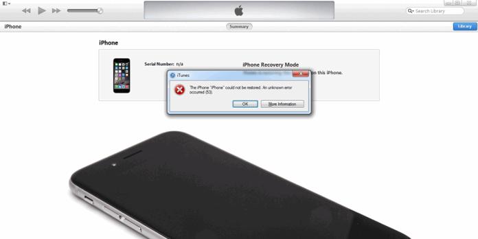 iPhone Error 53 Hatası Nasıl Düzeltilebilir?