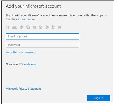 Windows 10'da Farklı Bir Hesap ile Store'a Kaydolmak-5