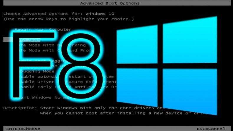 Windows 10 F8 Menüsü Nasıl Açılır? 1