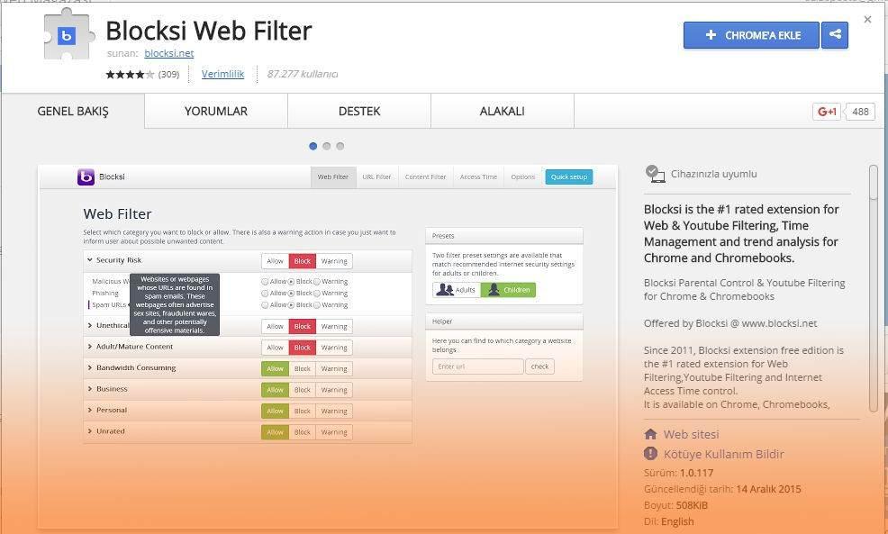 bloksi-web-filter
