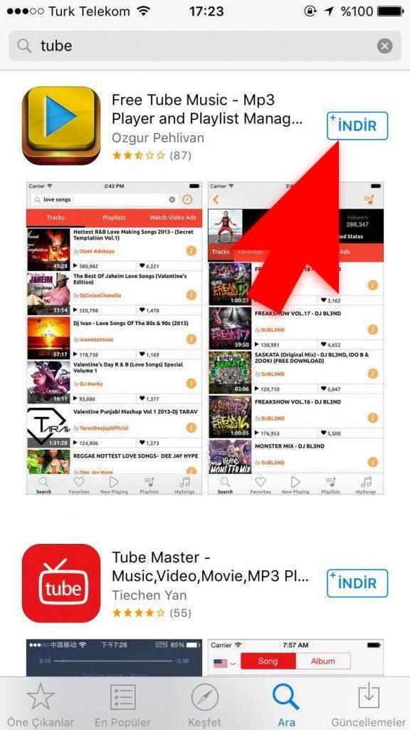 iPhone'a Nasıl Müzik İndirilir -2-(www.TeknolojiDolabi.com)