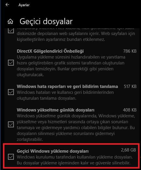 Windows 10'da Windows.old Klasörü Nasıl Silinir?
