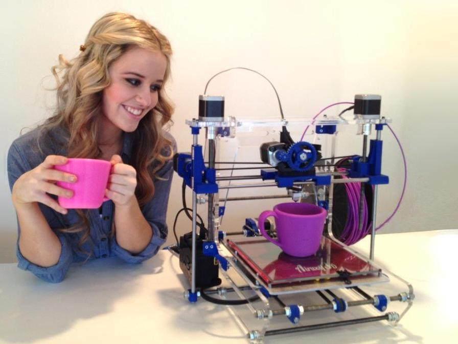 3D Yazıcı Nedir ? 3D Yazıcı Nasıl Çalışır ? 1
