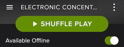 Spotify ile Çevrim Dışı iken Nasıl Müzik Dinlenir?