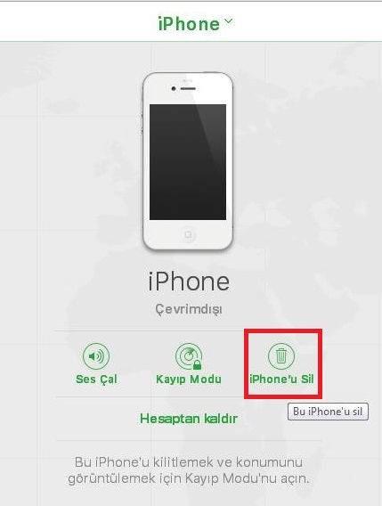 Apple Aygıtınızdaki Cihaz Verilerini Uzaktan Silme İşlemi Nasıl Yapılır?