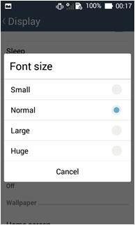 Asus ZenFone Cihazlarda Yazı Boyutu Nasıl Değiştirilir-5