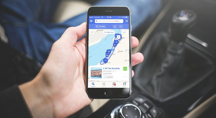 Foursquare ile Rotanız Üzerindeki Mekanları Listeleyebilirsiniz 1