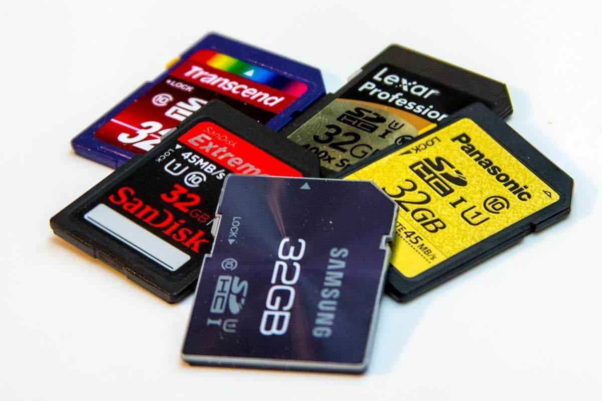 Hafıza Kartların Karşılaştırılması (CF, MMC, MS, SD ve USB)