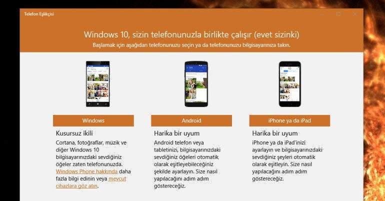 IOS ve Android Telefonlar Windows 10'a Nasıl Bağlanır? 1