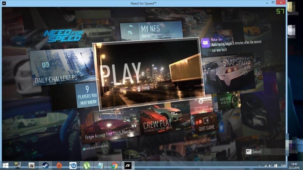 Need for Speed Tam Ekran Nasıl Yapılır-1